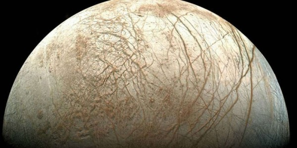 Спутник юпитера - Европа