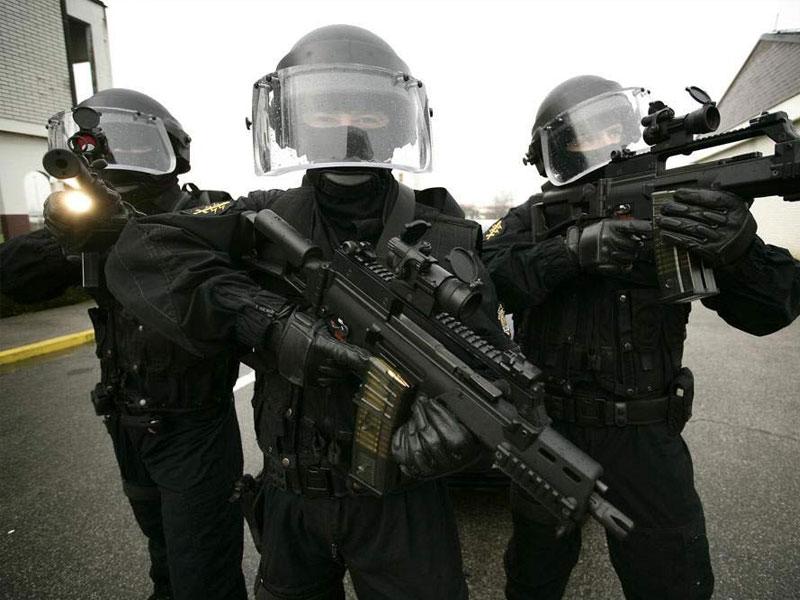 GSG 9 - спецназ федеральной полиции Германии