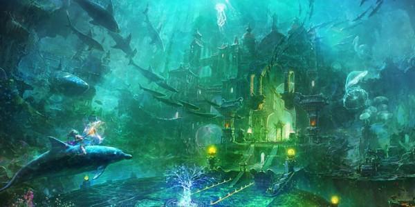 Фантастическая Атлантида