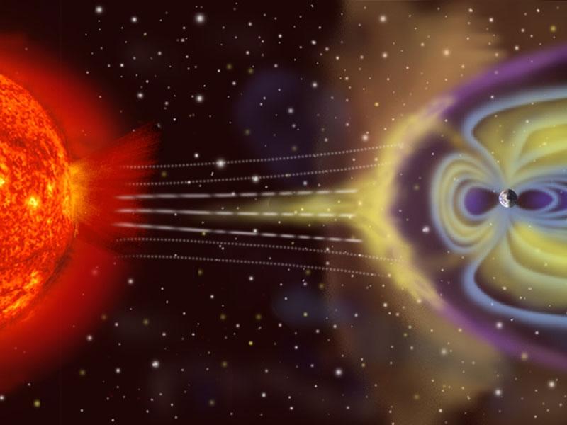 Энергия солнечного ветра