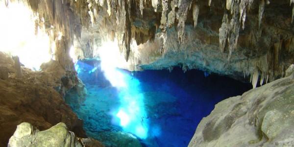 Пещера Голубого озера