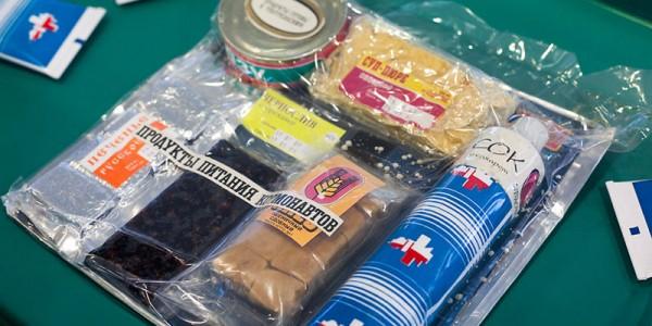 Другие продукты питания для космонавтов
