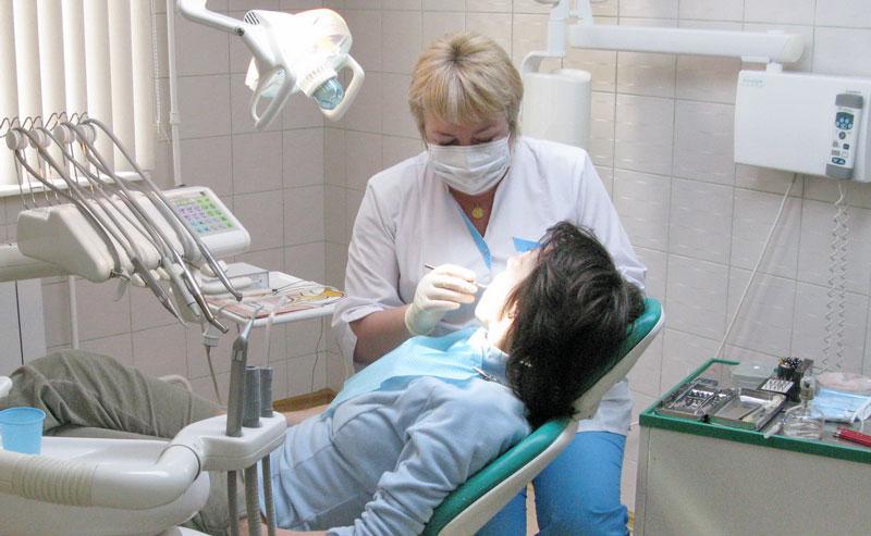На приёме у стоматолога