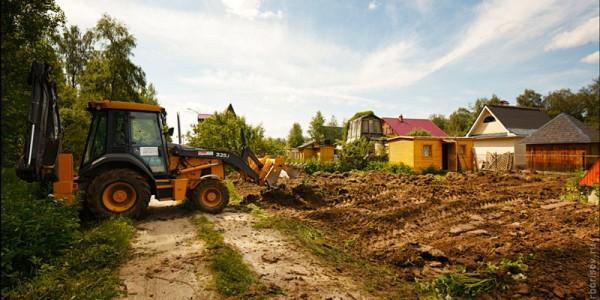 Подготовка строительства