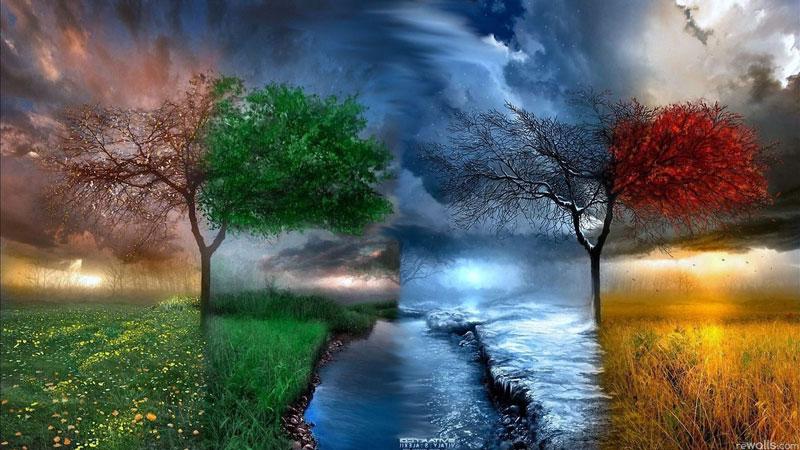 Весна, Лето, Зима, Осень