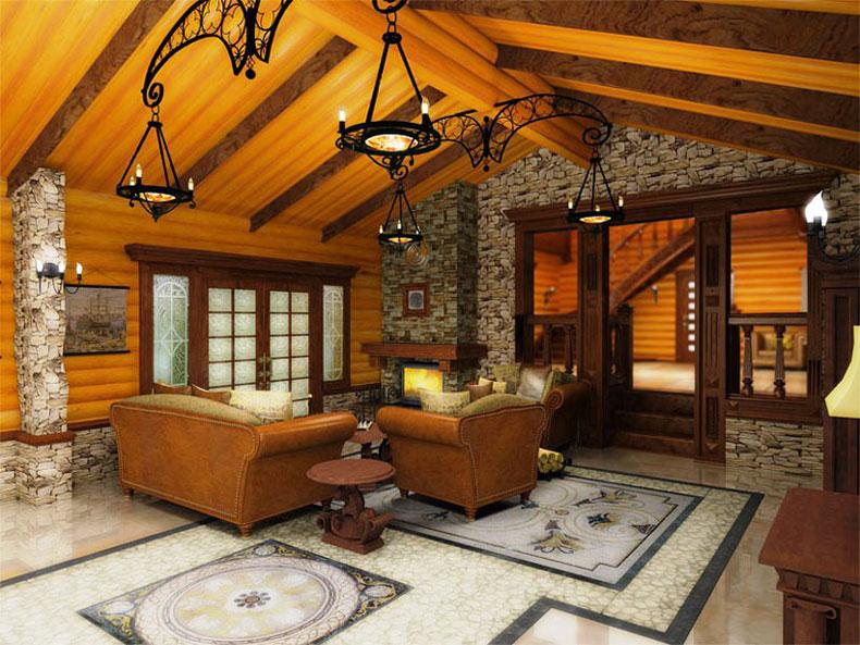 Внутренняя отделка домов