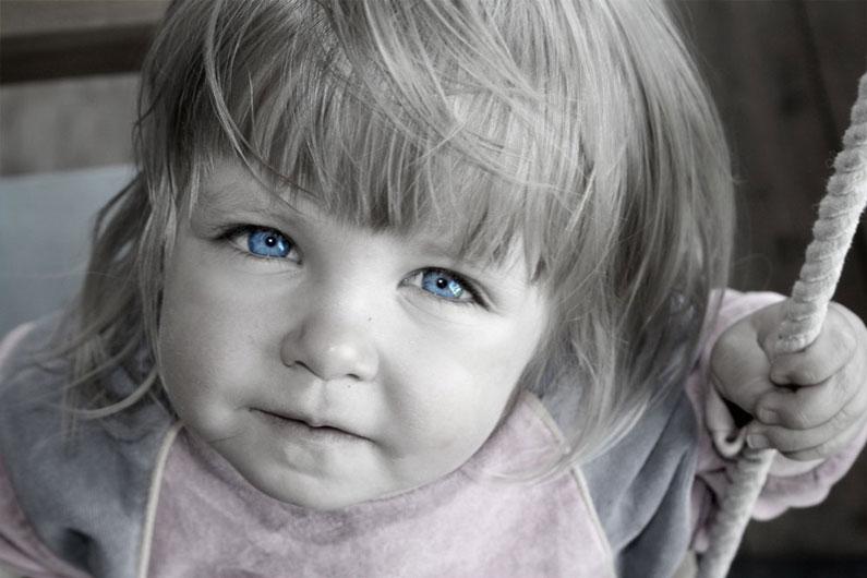 Самостоятельность в глазах малыша