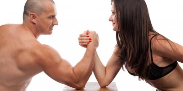 Финансовая борьба мужчины и женщины