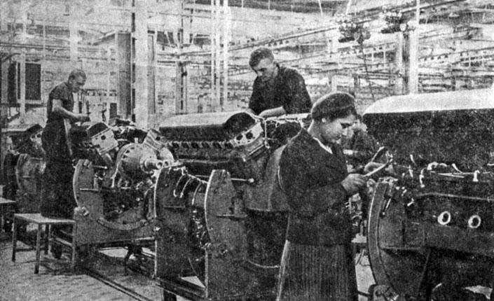 Конвейер: поточное производство
