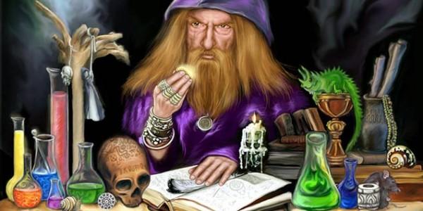 Алхимики в поисках философского камня