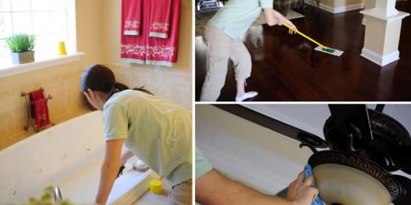 Генеральная уборка дома