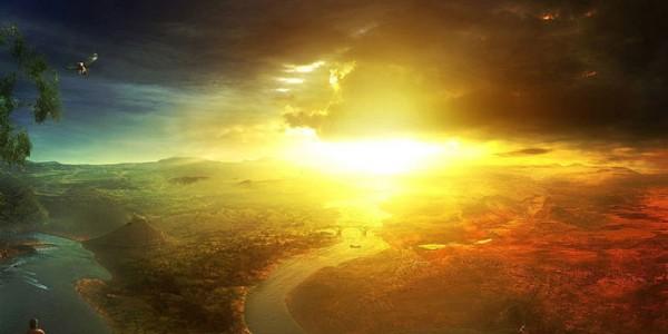 Падение солнца