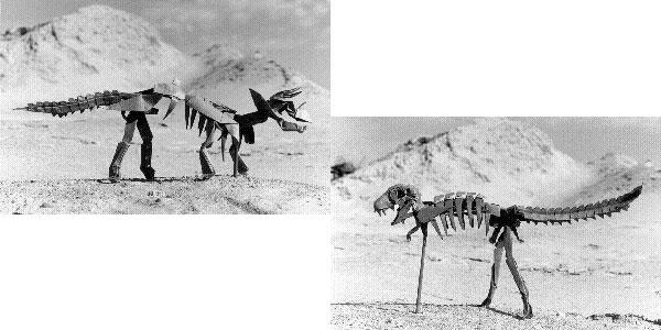 Рис. 1 - Скелет динозавра Иссеи Йошито
