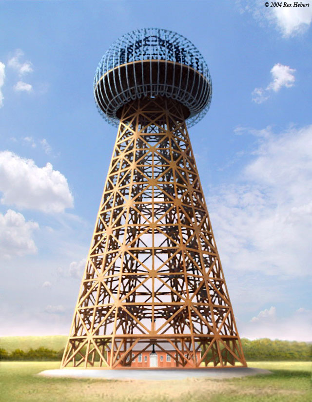 Башня Wardenclyffe: 1901 - 1917