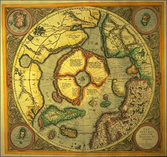 Герар Меркатор 1595 г.