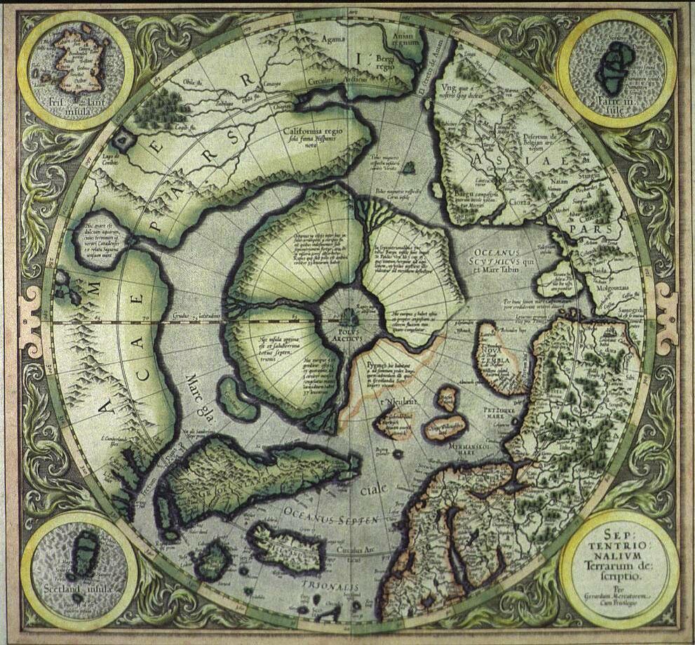 Герар Меркатор 1606 г.
