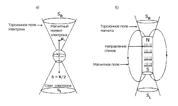 Магнитная обработка и торсионные поля