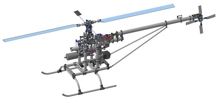 Мини-вертолет «Ворон»