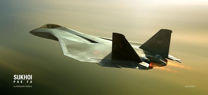 Испытание головного серийного самолета Т-50