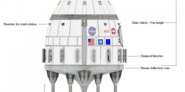 Космический (ядерный) летательный аппарат