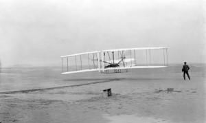 Первый полёт первого самолёта (братья Райт)