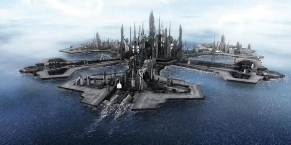 Другое представление местности Атлантиды