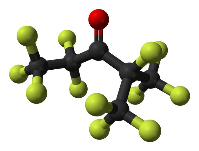 Молекула Novec 1230