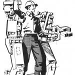 Экзоскелет — усиленный каркас для солдата