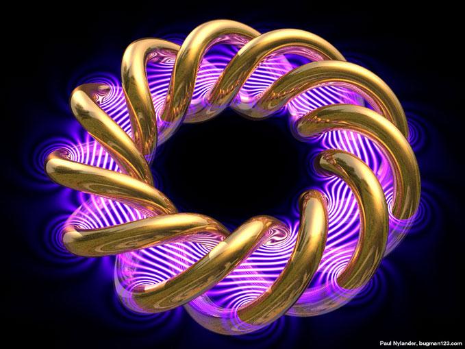 Энергия тороидальной фигуры