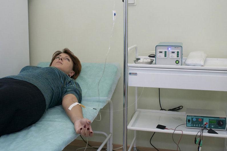 Ультрафиолетовое облучение крови