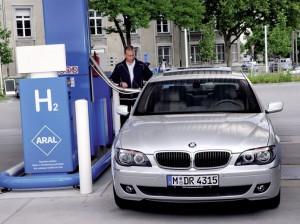 Водородное топливо на автозаправке