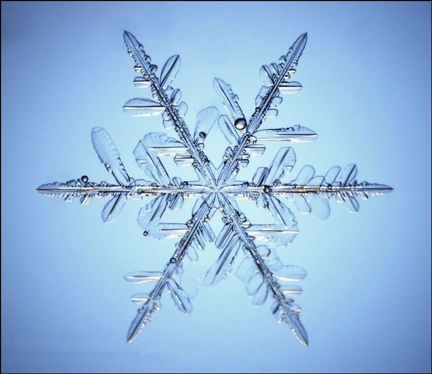 Структура снежинки