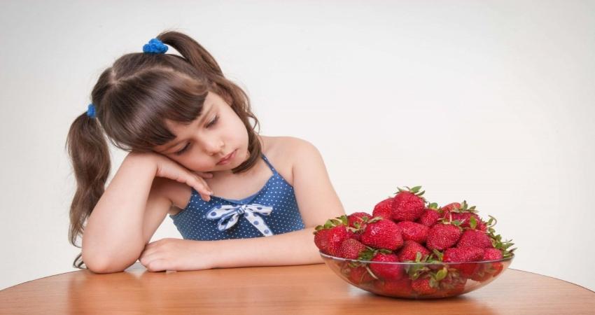 Аллергия на продукты одна из проблем с раннего детства