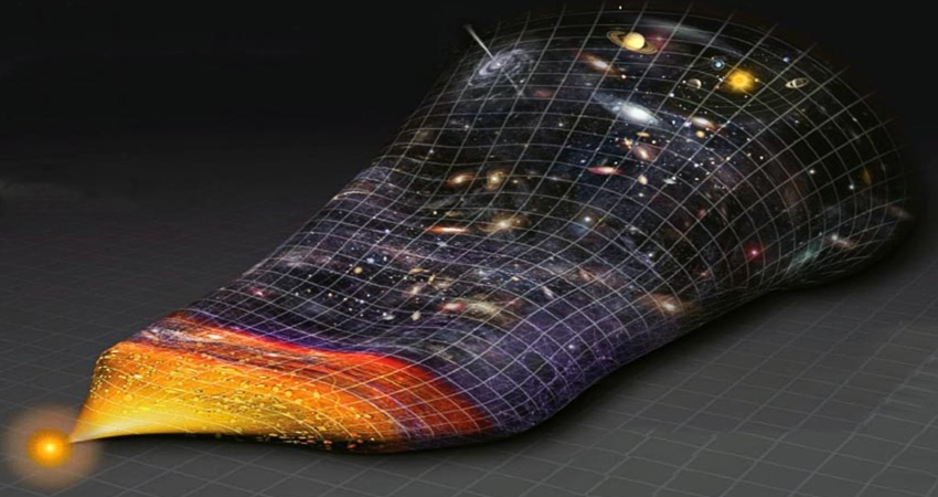Взрыв и расширение нашей Вселенной