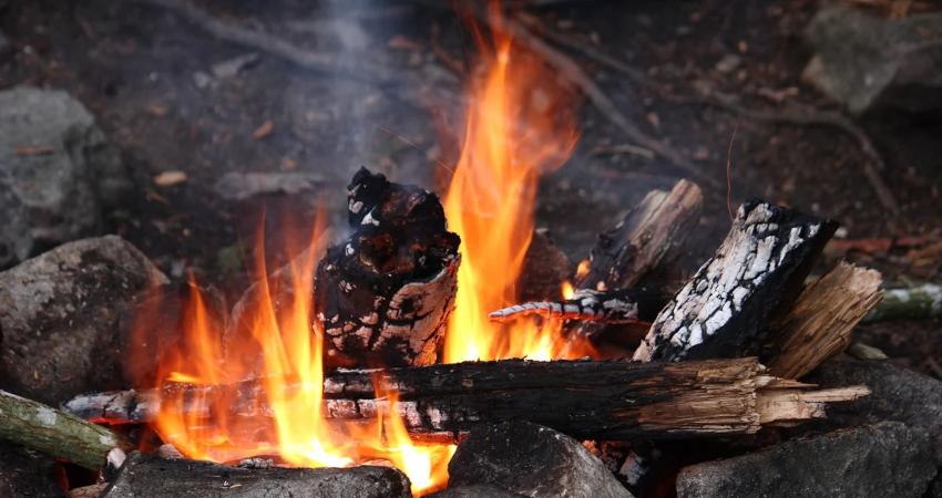 Добывание огня трением требует умение и терпение