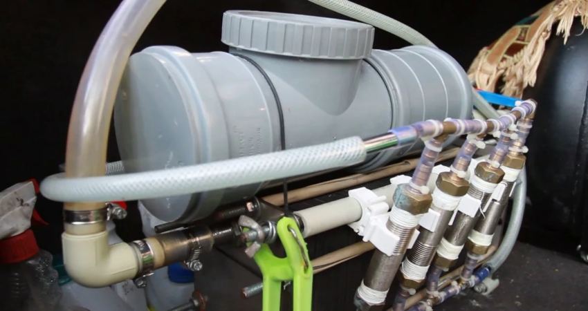 Двигатель на воде