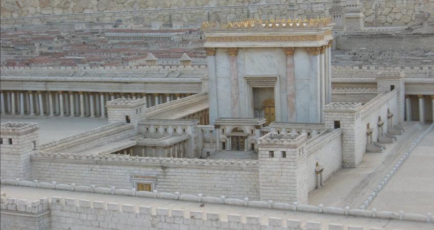 Макет Иерусалимского храма при царе Соломоне