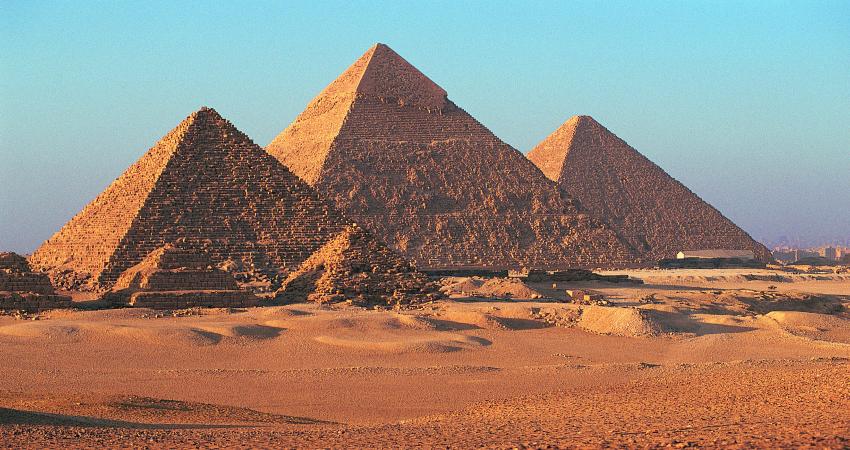 Великие Пирамиды Мекерена, Хефрена и Хеопса