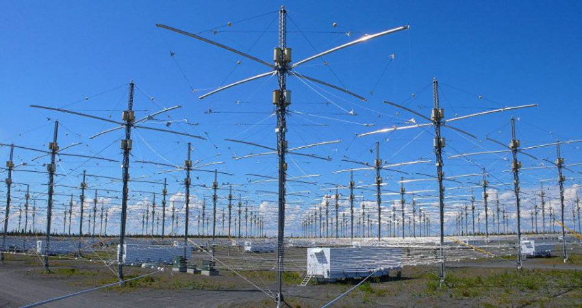 Антенны американского научно-исследовательского проекта HAARP