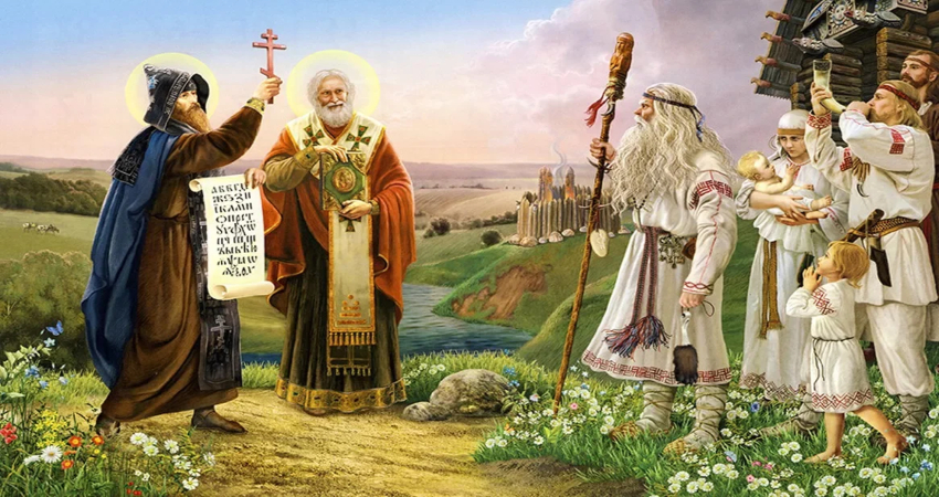 У славян всегда силен дух к православию